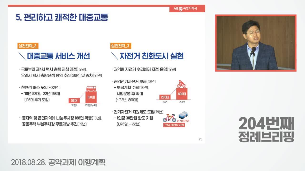 <공약 관련 영상>시정목표5 편리하고 쾌적한 대중교통