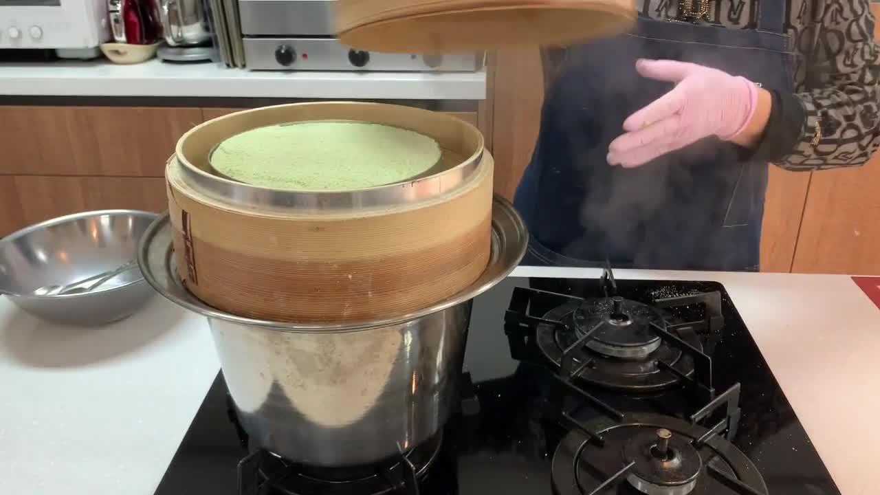 할매강사와 크리스마스 떡케이크 만들기 체험