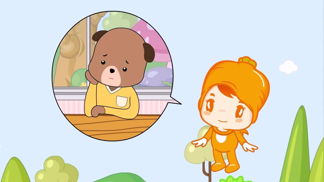 (교육용 동영상) 세종숲속마을 건강요정 양심이와 당당이(음식을 골고루 먹어요) 이미지